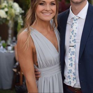 Stone Gray Lulu's bridesmaid dress